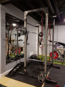 Power rack, waiting for another user